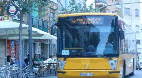 Paterna pone en marcha el Bus a la Playa el próximo 22 de junio con todas las garantías sanitarias y de  seguridad