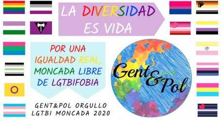 LGTBI Moncada lanza una campaña para celebrar el «Orgullo»