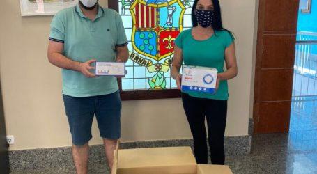 La marca deportiva Rasán dona 1.200 mascarillas al Ayuntamiento de Rafelbunyol