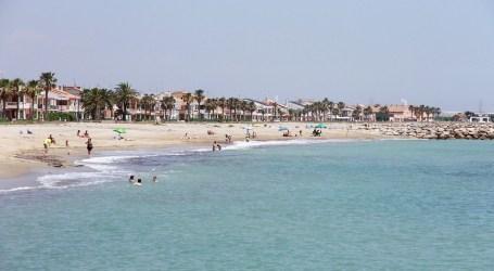 La playa de Puçol también estará cerrada la noche de San Juan
