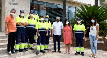 Paiporta incorpora a sis treballadors del programa d'ocupació per al sector agrícola