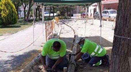 El Ayuntamiento de Paterna remodela el aparcamiento de la calle Coves del Palau para seguir mejorando la movilidad peatonal de la zona