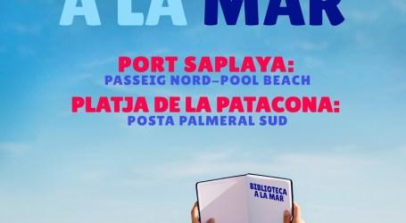 Torna a les platges d'Alboraia la Biblioteca a la Mar