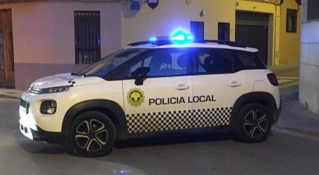 La Policía local de Massamagrell salva la vida de un bebé que se había atragantado