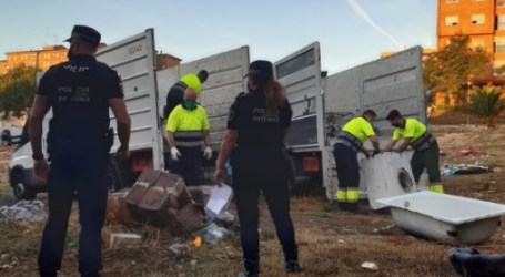 Retiran 6 toneladas de residuos sólidos urbanos en La Coma