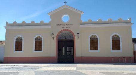Catarroja continua els treballs d'ampliació del cementeri amb la construcció de 48 nous nínxols
