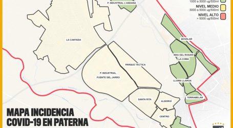 Aumenta la presencia de COVID-19 en Paterna aunque la incidencia sigue siendo baja