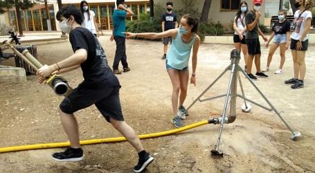 El Voluntariado Ambiental de Torrent forma a los jóvenes en la prevención de incendios forestales