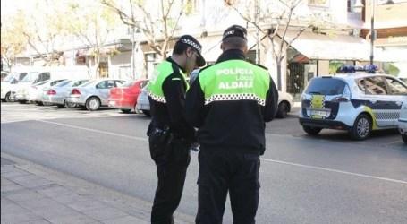Prioridad en Aldaia: llevar mascarilla. La Policía pone 150 multas
