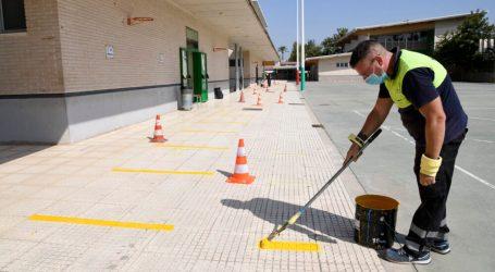 Paiporta senyalitza els patis de les escoles