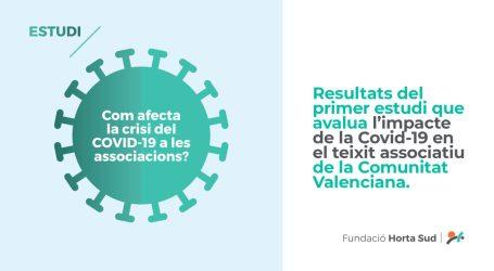 La Fundació Horta Sud fa públics els resultats del primer estudi realitzat a la Comunitat Valenciana per avaluar l'impacte de la Covid-19 en el teixit associatiu