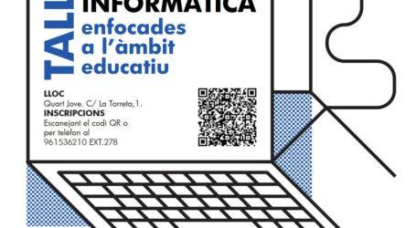 Quart de Poblet organiza un taller gratuito de informática para familiares de alumnos de los centros educativos del municipio