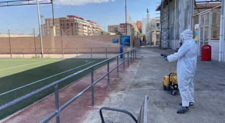 Se reanuda la actividad deportiva con un estricto protocolo sanitario en la Ciutat de l'Esport d'Alboraia