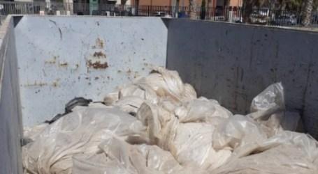 La EMTRE arreplega vora 40.000 kilos de plàstics agraris en l'Horta Nord en un mes