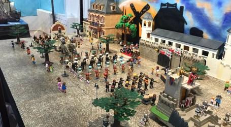 Catarroja rep al món playmobil en una exposició oberta al públic fins al 17 d'octubre
