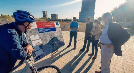 Obras Públicas avanza en la ejecución de las obras de la nueva vía ciclopeatonal entre l'Horta Sud y la ciudad de València
