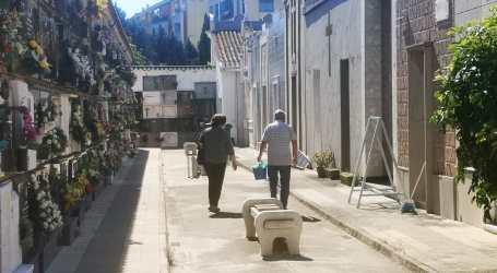 Catarroja treballa en un pla específic d'accés al cementeri per a la setmana prèvia a Tots Sants