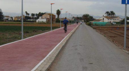 Se finalizan las obras del carril bici de Almàssera