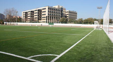 El Ayuntamiento de Burjassot mejora el alumbrado del campo de fútbol del Polideportivo Municipal