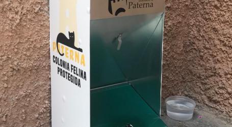 Paterna pone en marcha una prueba piloto con tolvas-comederos para alimentar a las colonias felinas