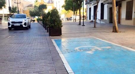 La Policia d'Alaquàs recorda als ciutadans a fer bon ús de les targetes d'estacionament  per a persones amb mobilitat reduïda