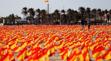 Las banderas en la playa de la Patacona no tenían autorización y la Policía abre informe