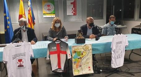 Presentación I Peregrinación Ciclista Corona de Aragón en Massamagrell