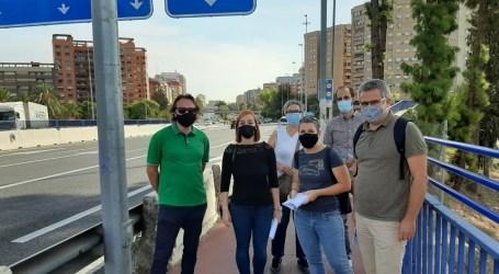 Nuevo puente sobre la V-30: Compromís pide a Ábalos un proyecto que mejore la movilidad de Xirivella