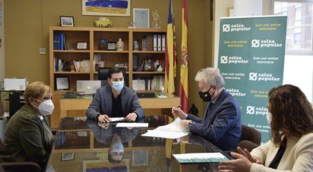 El Ayuntamiento de Burjassot y Caixa Popular firman un convenio de colaboración para el apoyo financiero a los emprendedores locales