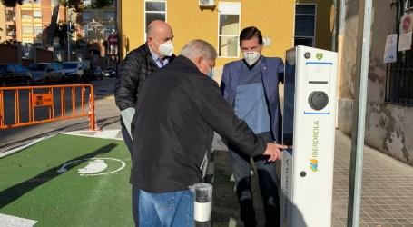 Burjassot pone en marcha este fin de semana sus dos nuevos puntos públicos de recarga para vehículos eléctricos