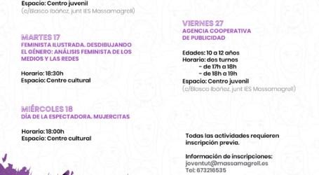 El Ayuntamiento de Massamagrell anuncia su programa para celebrar el 25N