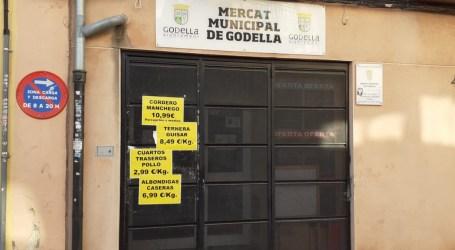 Tancament del Mercat de Godella després de l'aparició de casos de COVID-19