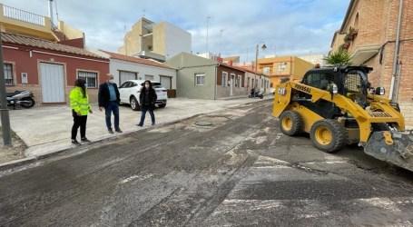 Massamagrell reasfalta varias calles con 47.715,82 euros procedentes del remanente de tesorería