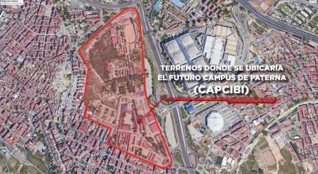 """Paterna optará a los fondos Next Generation de la UE con el Campus de FP en Ciberseguridad y Biotecnología """"CAPCIBI"""""""