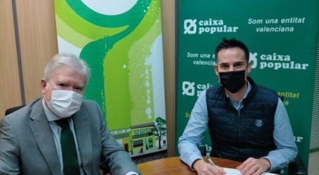 La Associació de Comerciants de Moncada y Caixa Popular renueva su alianza para promover el comercio local