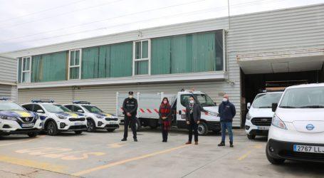 Quart de Poblet incorpora cuatro coches ecológicos nuevos a su flota