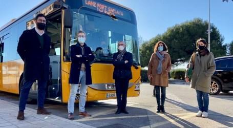 La Conselleria de Movilidad mejora la conectividad entre Alboraya y València con un nuevo autobús entre la ciudad y Port Saplaya