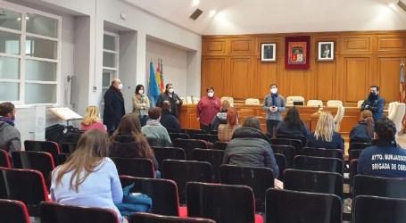 El Ayuntamiento de Burjassot incorpora 13 nuevos trabajadores de los programas Empuju y Ecovid