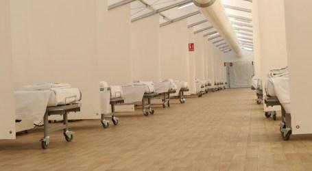 Los hospitales de campaña listos para recibir a los pacientes de la tercera ola