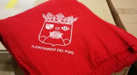 El Puig dóna mantes a l'alumnat i posa la calefacció dels centres a la màxima potència