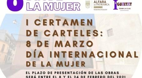 """L'Ajuntament d'Alfara del Patriarca convoca el seu primer certamen de cartells: """"8 de març, Dia Internacional de la Dona"""""""