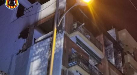 Una gran explosión en Burjassot se salda sin heridos