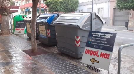 Paterna inicia una campaña informativa para evitar el abandono de enseres en la vía pública