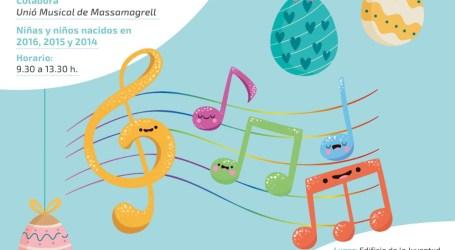"Massamagrell organiza la primera escuela ""Música de Pascua"""