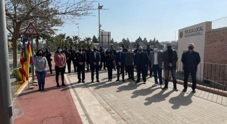 Massamagrell homenajea a la Policía Local del municipio en su día