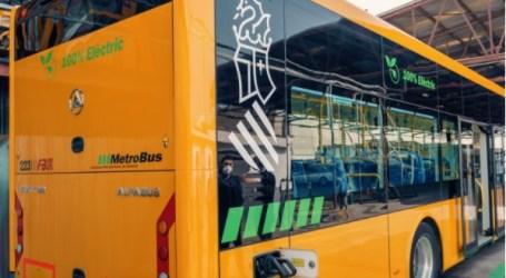 Más de 11.500 desplazamientos en las nuevas líneas de autobús entre València y el área metropolitana