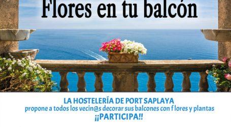 Port Saplaya se llenará de flores