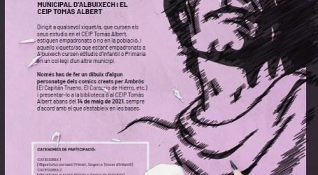 Albuixech convoca el I Concurso de Dibujo Infantil Ambrós