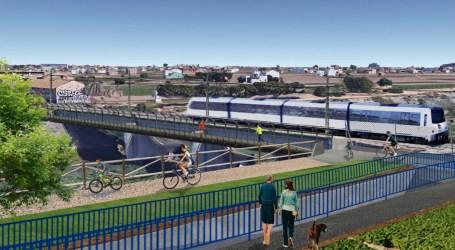 GVA hará dos pasos inferiores bajo la L3 de Metrovalencia y dará continuidad a los caminos del Barranco del Carraixet