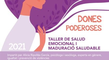 Alcàsser pone en marcha un programa de intervención en mujeres